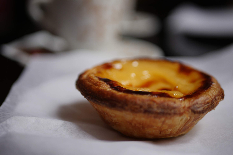 Single Portuguese pastry