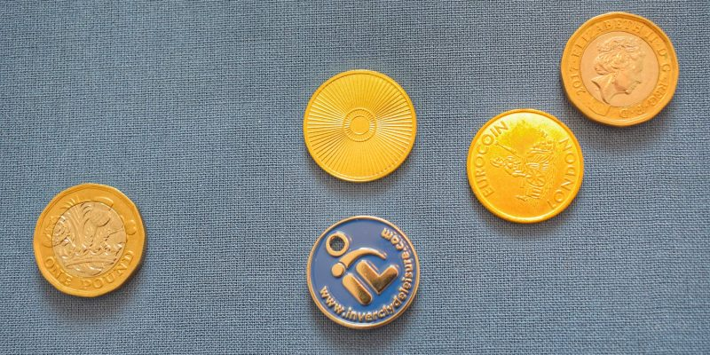 Pound coins and locker tokens needed for UK pool lockers