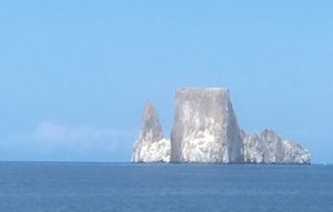 Kicker Rock in the Galapagos
